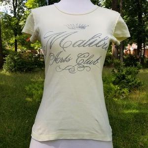Juicy Couture Malibu Crown Logo Tee Shirt S